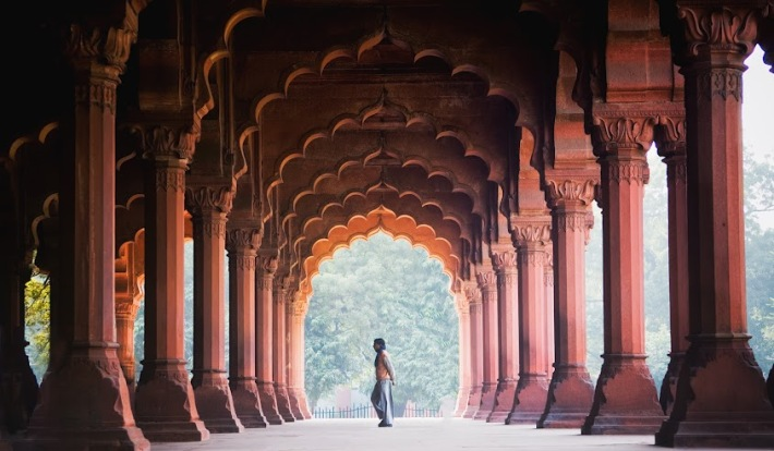Diwan-i-Aam, Red Fort. India